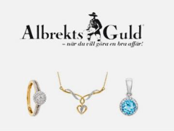 20% rabatt til alla nya medlemmar hos Albrekts Guld