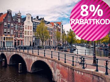 8% rabattkod Hotels.com